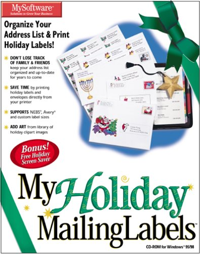 MyHoliday Mailing Labels