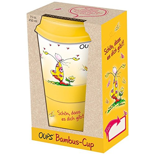 Oups Bambus-Cup - Schön, dass es dich gibt!