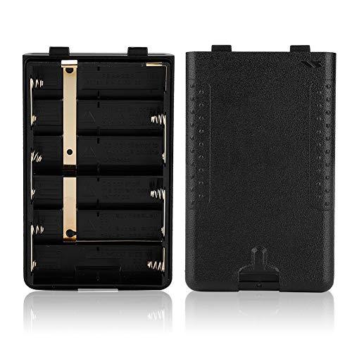 Walkie - Walkie de batería (6 compartimentos, 25 A), color negro