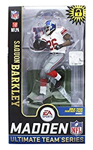McFarlane Toys EA Sports Madden NFL 19 Ultimate Team SAQUON Barkley York Giants