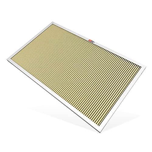 K&N 20x20x1 HVAC Furnace Air Filter, Lasts a Lifetime, Washable, Merv 11, the Last HVAC Filter You Will Ever Buy, Breathe Safely at Home or in the Office (Actual Dimensions.8 x 19.6 x 19.6 inches)