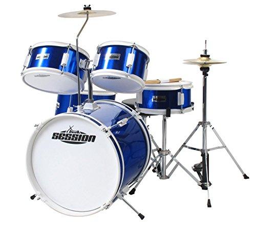 XDrum Junior batterie pour enfants bleue