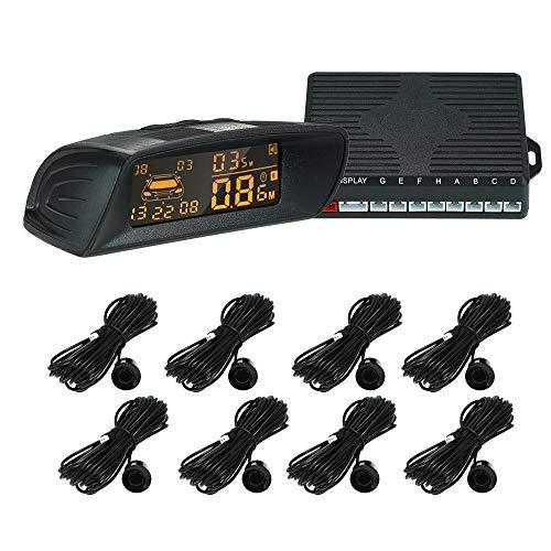 For Sale! Alina-Shops - Car Rear View Radar Parking System Car Reversing Buzzer LED 8 Radar Sensor