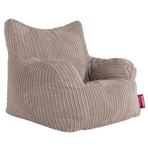 Lounge Pug®, Puff Sillón, Pana Clásica - Visón