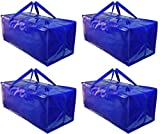 BY BE YOURS Pack de 4 Bolsas Mudanza y Almacenaje - Impermeables, Extra Grandes...