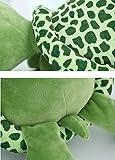 YunNasi Schildkröte Plüschfigur Kuscheltier Spielzeugfiguren Meerestiere, Grün, Liegend 80CM - 5