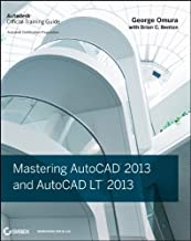 Mastering AutoCAD 2013 and AutoCAD LT 2013 (Edition 1) by Omura, George [Paperback(2012£©]