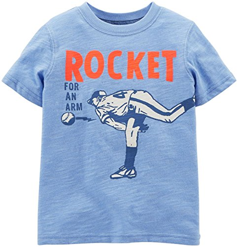 Carter's Baby Boys' Graphic Tee (Baby) - Rocket 4 an Arm - 3 Months