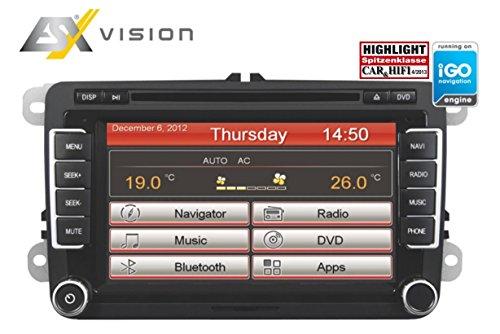 ESX VN710 VW-P1 navigatiesysteem (7 inch display, vaste monitor, 16:9, continent)