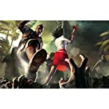 Dead Island Poster by Silk Printing # Size about (96cm x 60cm, 38inch x 24inch) # Unique Gift # 0AD7D9