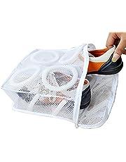 Momangel 1 bolsa de lavandería de malla para zapatillas de tenis