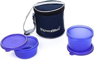 سينورووير - حقيبة غذاء صغيرة الحجم مع حقيبة 15 سم - بنفسجي