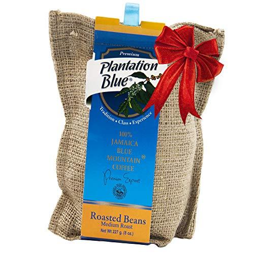 Jamaican Blue Mountain Coffee, 100% Pure, Whole Bean, Fresh Roasted, 8 ounce