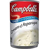 A delicately seasoned soup made with farm grown asparagus and real cream Packaged in a non BPA lined, 10.5 Ounce. recyclable can Enjoy a bowl on its own or incorporate the creamy soup into recipes that need a rich boost Count of this rich, comforting...