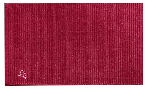 Olivo Tappeti Tappeto Cucina Formula passatoia Varie Misure Cotone 100% (Rosso, 55x140 cm)