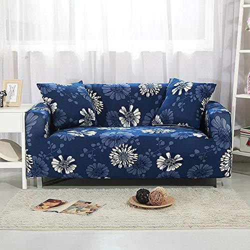 Allenger Universal Cubierta para Sofá,Funda de sofá elástica Universal de Cuatro Estaciones, Funda de protección de Muebles de Tela Antideslizante Todo Incluido, Lavable-3_Double 140-180cm