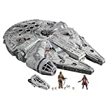 Star Wars – Edition Collector Vintage - Jouet électronique Galaxy's Edge Faucon Millenium - 9,5 cm