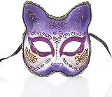 zgyqgoo maschera creativa halloween maschera per travestimento maschera per adulti mezza faccia maschera per feste maschera dipinta animale di venezia