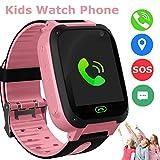 Kids Smart Watch Phone, LBS/GPS Tracker Smart Watch for 3-12...