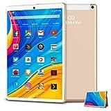 Tablet 10.1 Pulgadas Baratas y Buenas 4G 128GB TF y 4GB RAM 64GB ROM Android 9.0 Pie Tablet PC 10.1' Buenas WiFi 7500mAh...