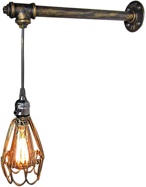 Antik Vintage Wandleuchten & Wandlampen Wohnzimmer Flur Metall Wandleuchte