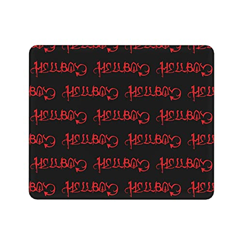 Lil Peep Hellboy Mouse Pad with Stitched Edge Premium-Textured Mouse Mat Non-Slip Rubber Base Mousepad 9.8 X 11.8 in