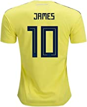 adidas Colombia Home Youth James Jersey 2018/2019 (Official Printing) (YL-12/14)