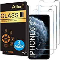 3-Pack Ailun Anti Scratch Tempered Glass Screen Protector for Apple iPhone 11 Pro Max/iPhone Xs Max