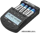 DLYFULL NT1000 急速充電器 Ni-Cd/Ni-MH 単三(AA)/単四(AAA)