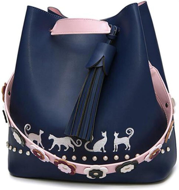 PPGE Damen Umhängetasche handtaschen PU PU PU Leder Shoulder Bag Tasche Henkeltasche Strandtasche B07D3WXK9P  Am praktischsten 45204b