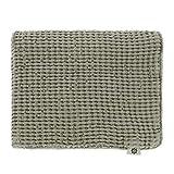 Linen & Cotton Kissenbezug Kissenhülle Dekorative Einfarbig Enzo - 48% Leinen, 52% Baumwolle, Grau...