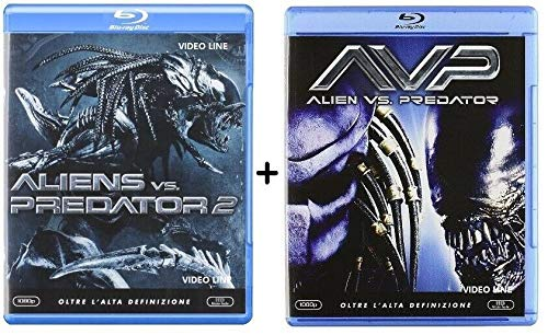Alien Vs Predator 2 / Alien Vs Predator (2 Film Blu Ray) - Edizione Italiana