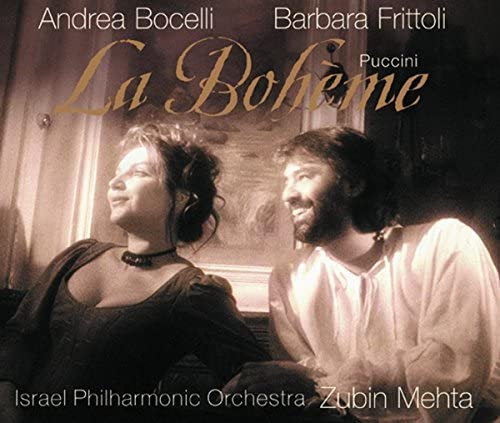 Andrea Bocelli, Barbara Frittoli, Israel Philharmonic Orchestra & Zubin Mehta