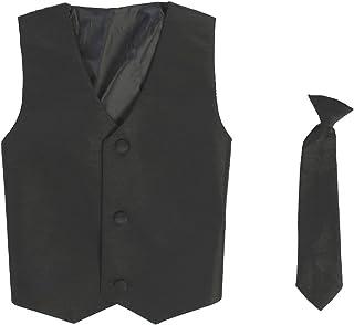 2e9e18ced6c2 Vest and Clip On Necktie Set-Multiple Colors-Baby Infant Toddler Boys Sizes