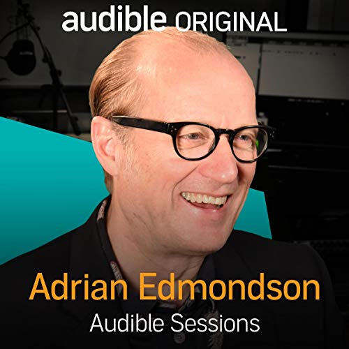 Adrian Edmondson audiobook cover art