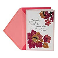 (With All My Heart) - Hallmark Mother's Day Greeting Card for Wife (With All My Heart)