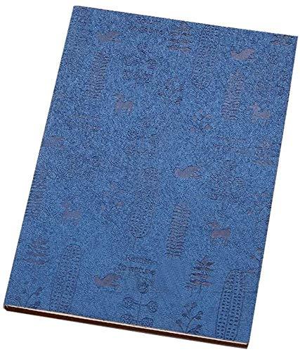 Libreta simple Notebook 80 Páginas Notepad Cuero Grande Vintage Business Trabajo Grosor Notebook Estudiante (Color: Azul, Size: 2 Books)