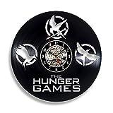 GXYtable cloth Regalo for Juegos de Hambre Fans Vinyl Record Reloj