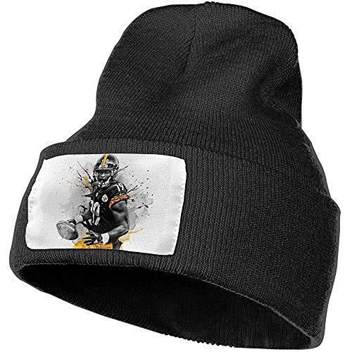 Myrna Kelse Steelers Karma Juju Smith Gebreide Hoed Neutraal Klassiek Herfst en Winter Warm Hoofddeksels