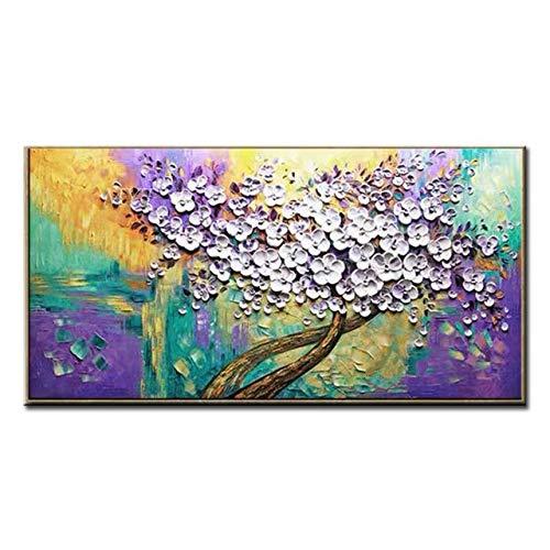 100% hecho a mano pintura al óleo lienzo pintura arte pared pintura sala de arte pintura decorativa 40 cm x 70 cm