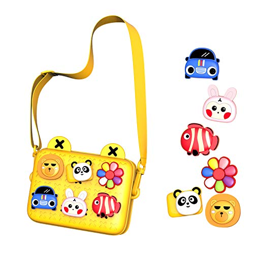 DUU Kids Bags Outdoor Backpack Girls Purse for Boy Play Purse for Toys Cameras Handbags Party Bags Gifts