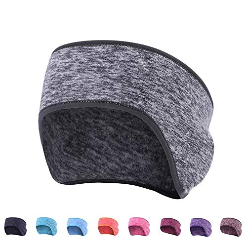 AYUYU Winter Warm Cation Ear Protection Basketball Basketball Headband Bicycle Riding Cap Running Jogging Ski Earmuffs Headwear (Color : Lake Blue)