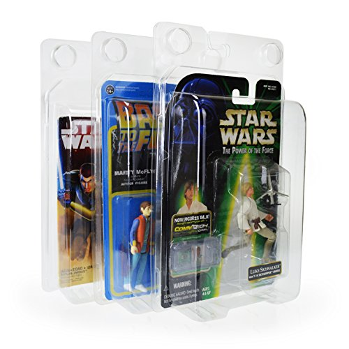"""Legacy Display Case for 3.75"""" Action Figures, Protective Classic Fit - 3 pack"""