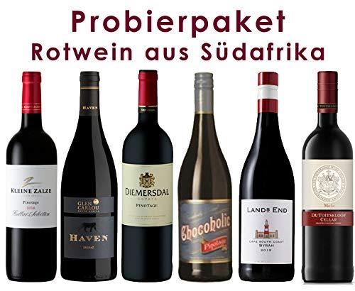6er Probierpaket | Rotwein aus Südafrika | 6 x 0,75 l