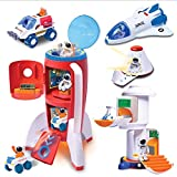 Astro Venture Deluxe Space Playset Toy - Space Shuttle, Space Station & Capsule, Space Rover & Rocket w/Lights and Sound - Space Toys for Boys and Girls