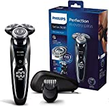 Philips S9721/41 Series 9000 - Afeitadora eléctrica en seco y húmedo (afeitado, apurado y suave, ideal para barba de 3 días, 60 minutos de autonomía)