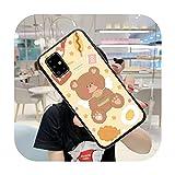Coque pour Samsung S5 S6 S7 S8 S9 S10 S20 S21 Edge Plus E Fe Lite Fundas Cover-a10-Samsung S9