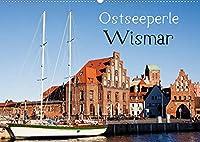 Ostseeperle Wismar (Wandkalender 2022 DIN A2 quer): Wismar - Kleinod an der Ostseekueste (Monatskalender, 14 Seiten )
