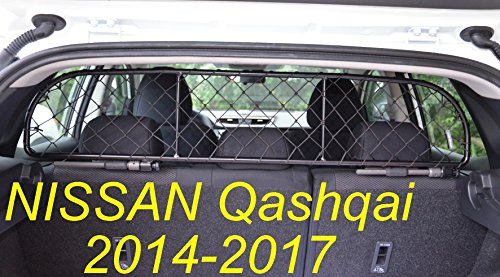 ERGOTECH Trennnetz Trenngitter Hundenetz Hundegitter für Nissan Qashqai ab BJ 2014