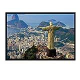 Leinwand Bild,Rio De Janeiro Skulptur, Poster Und Drucke